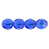 Fire Polished 7mm Transparent Sapphire